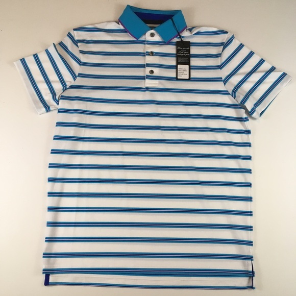 d6f652ab Greyson Shirts | Small Multi Colored Stripe Wicking Polo | Poshmark
